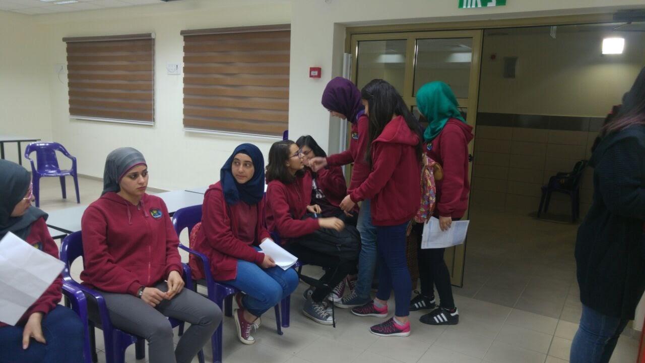 مدرسة آفاق الثانوية كفرمندا تنظم حملة التبرع بالدم