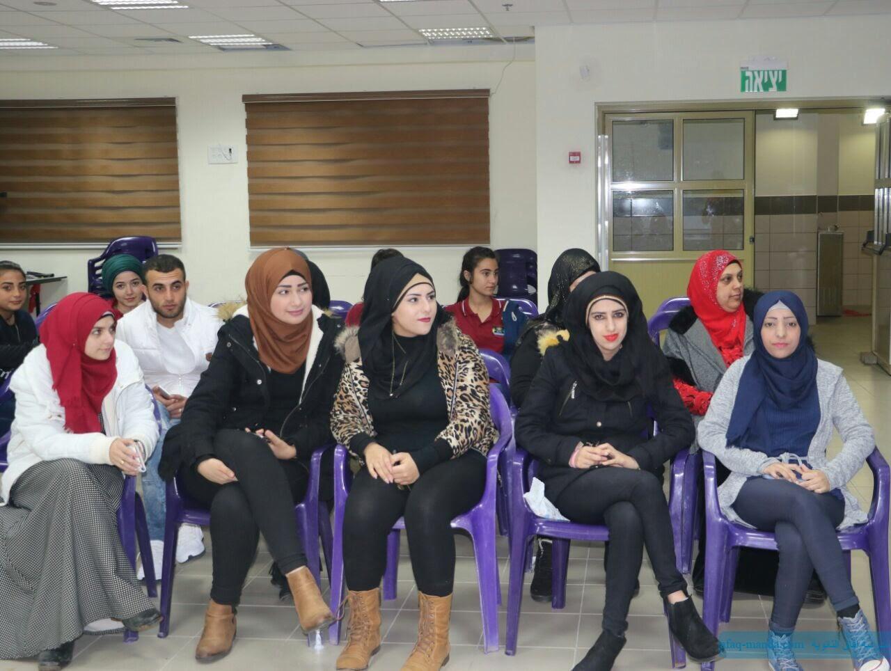 تكريم طالبات فرع التربية وعلم النفس