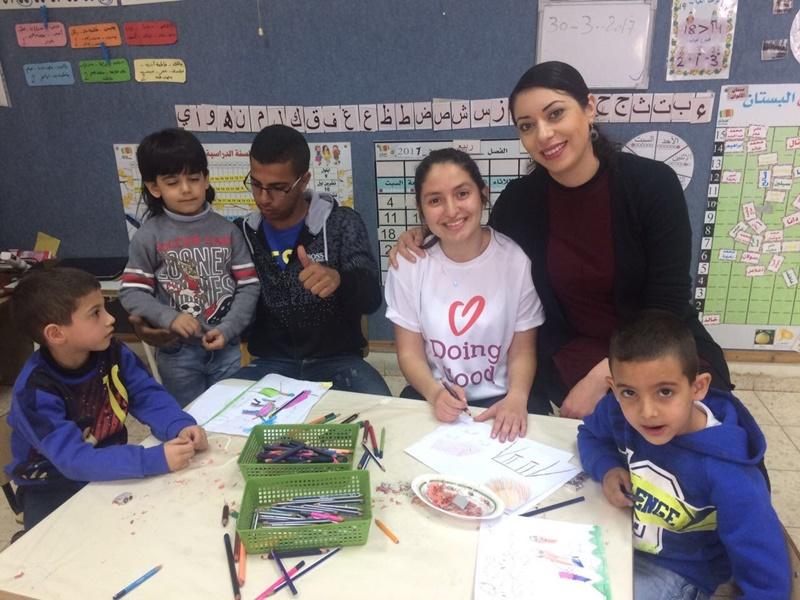 يوم الأعمال التطوعيّة في مدرسة آفاق الثانويّة كفر مندا