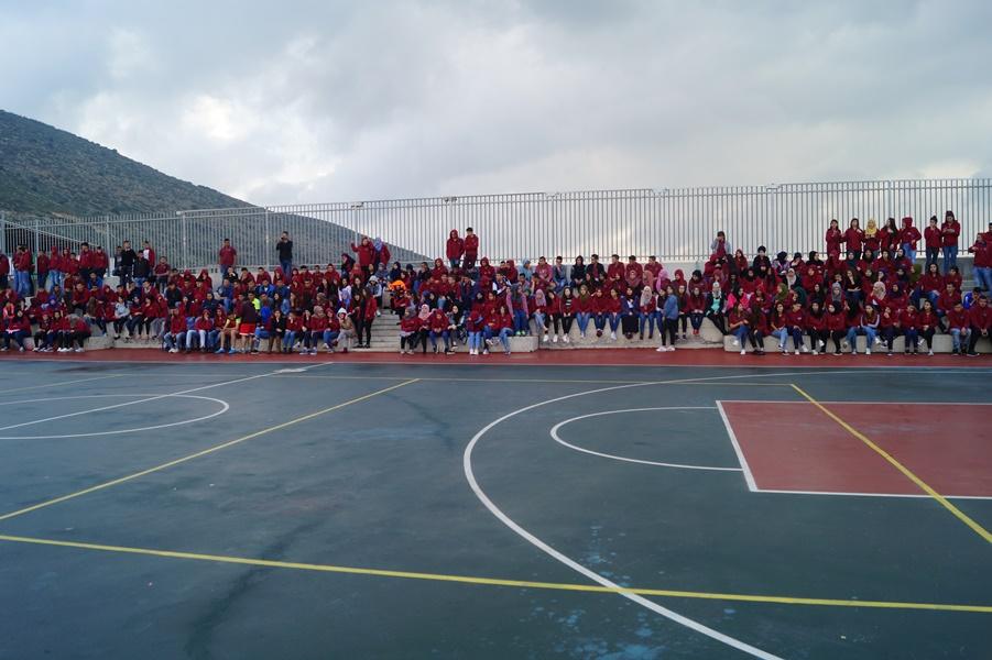 مدرسة آفاق الثانوية واحتفالات نهاية الفصل الثاني
