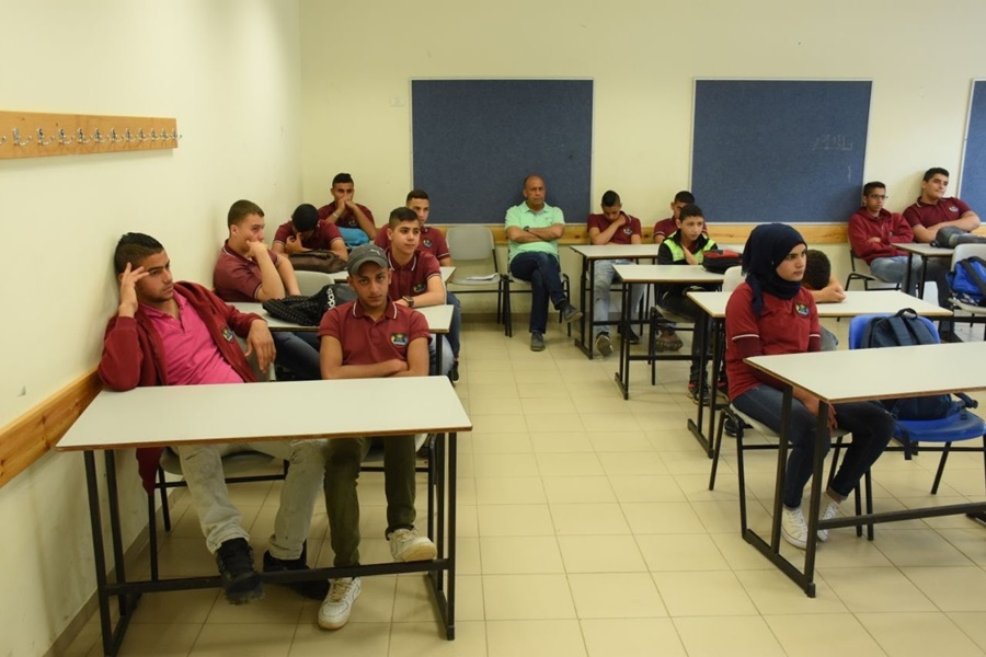 فعالية: لا للاستعمال السلبي للسموم في مدرسة آفاق الثانوية كفرمندا