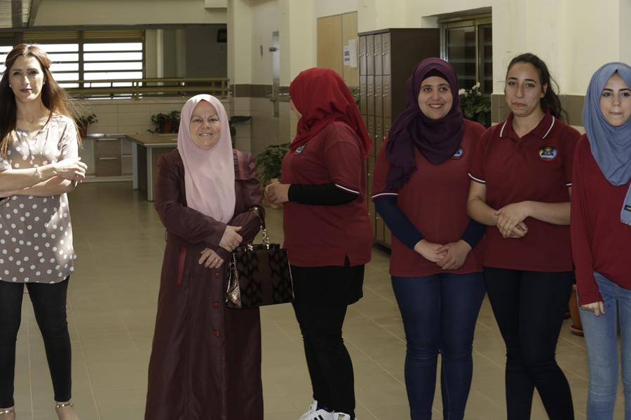 لأول مرة: السفير التركي يزور مدرسة آفاق الثانوية كفرمندا