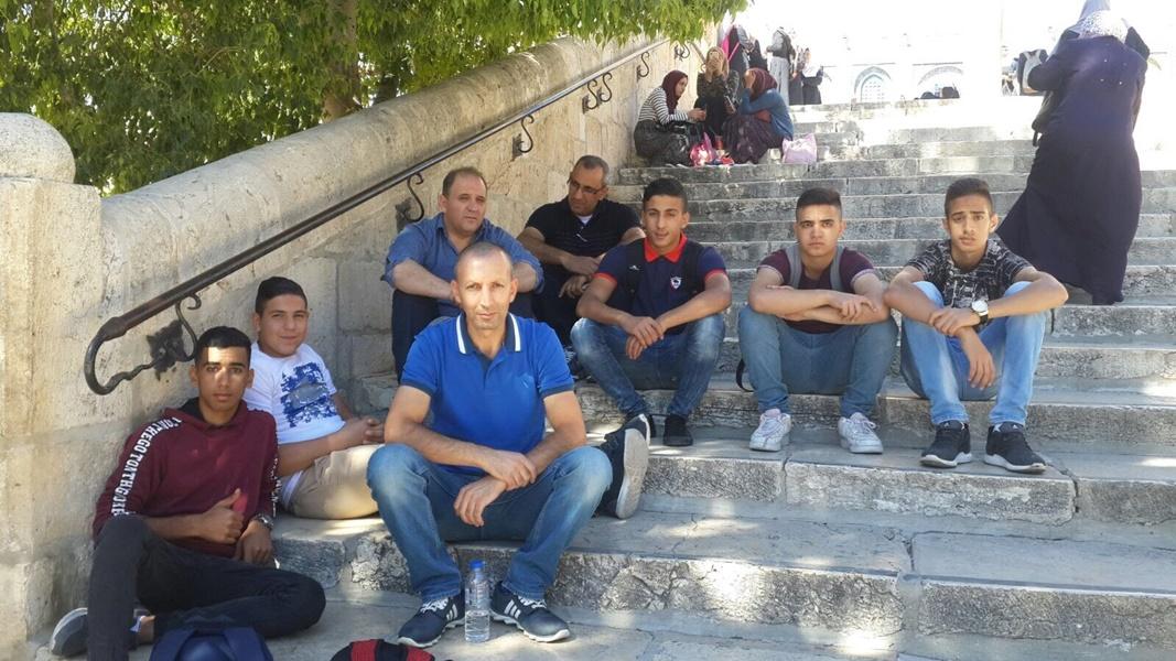 مخيّم المدنيّات الأوّل في مدرسة آفاق الثانويّة