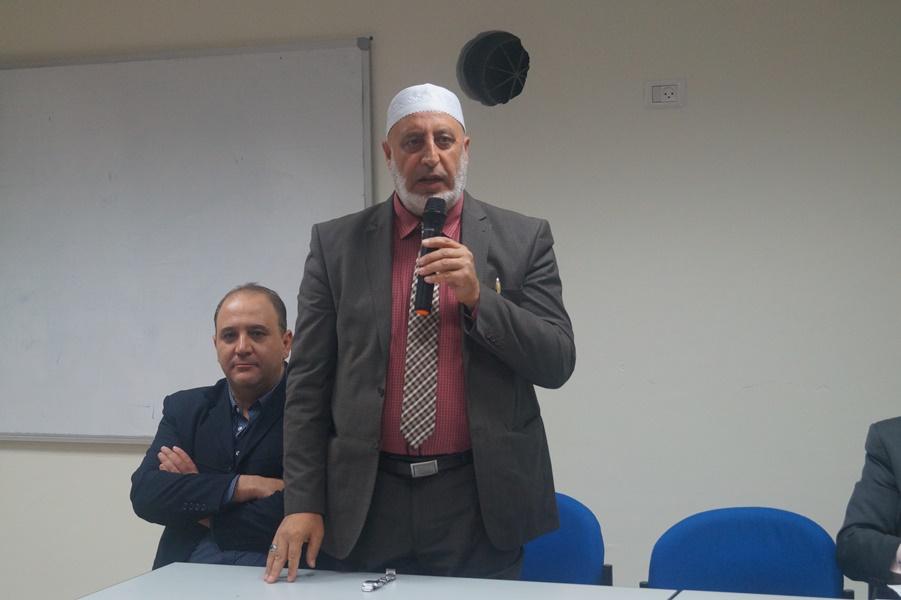 احتفال ذكرى المولد النبوي الشريف في باحة مدرسة آفاق الثّانويّة