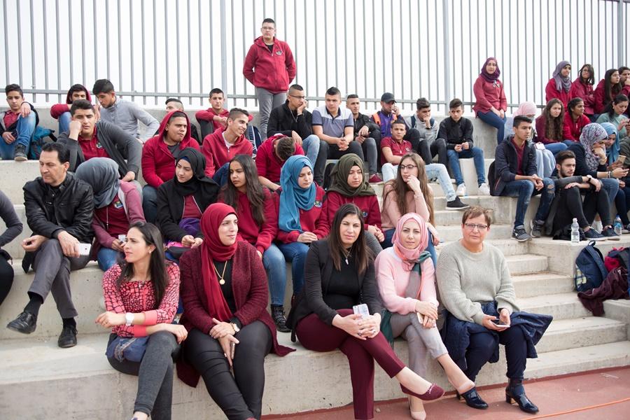 ثانويّة آفاق وفعالية نهاية الفصل الاول- طلاب