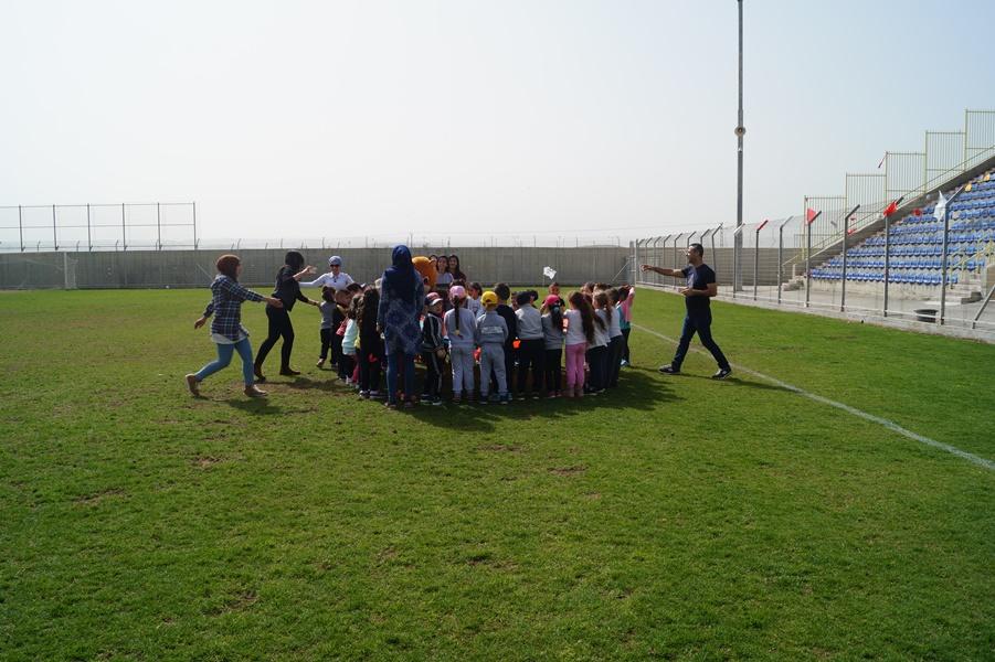 مشروع التواصل الاجتماعي (ثانويّة آفاق ومجمّع روضات الطبيعة) / يوم رياضي.