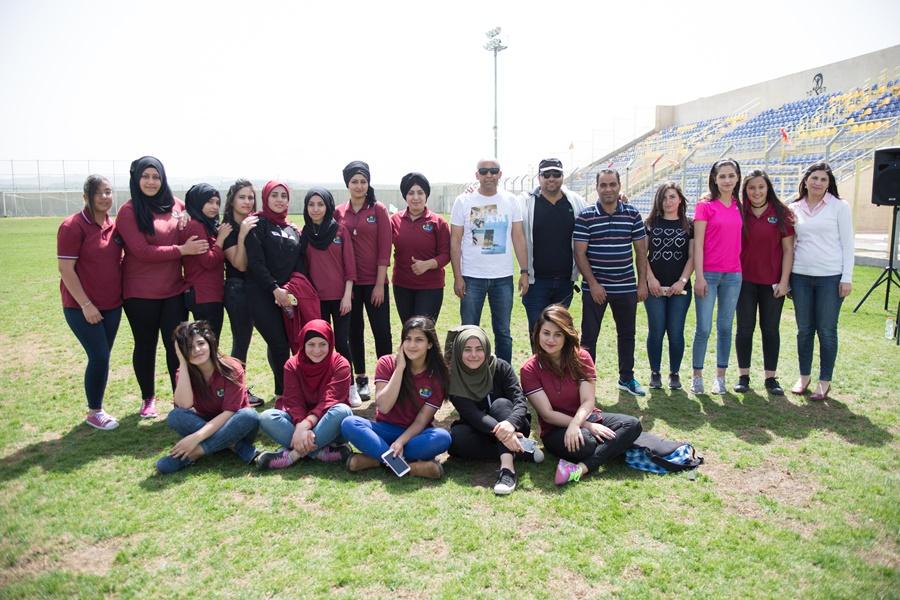مشروع التواصل الاجتماعي (ثانويّة آفاق وبستان البراعم في مجمّع روضات الطبيعة)  - يوم رياضي.