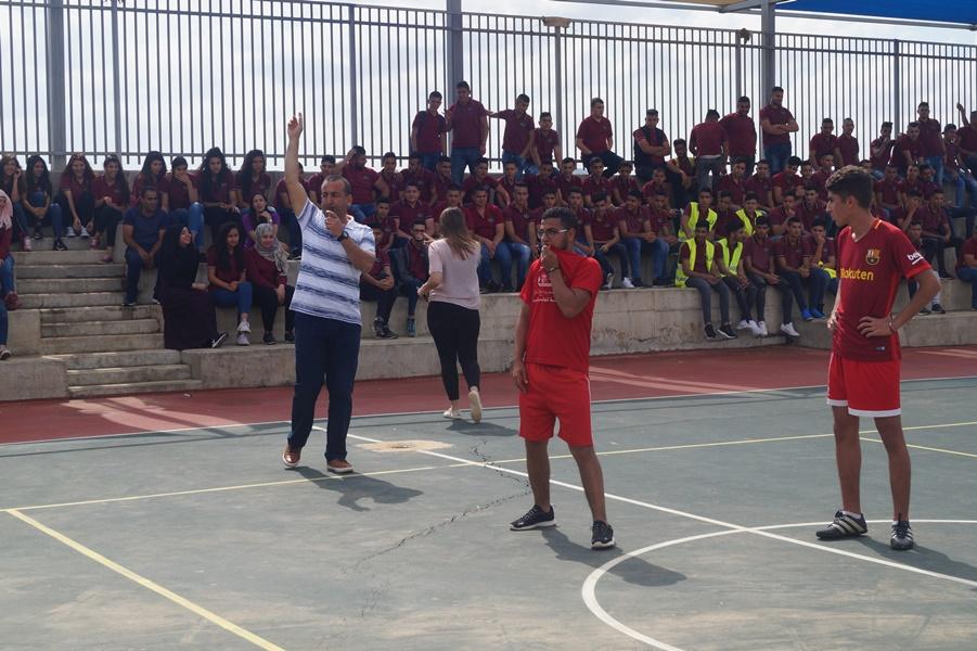 مدرسة آفاق الثانوية ومباراة كرة القدم النهائيّة