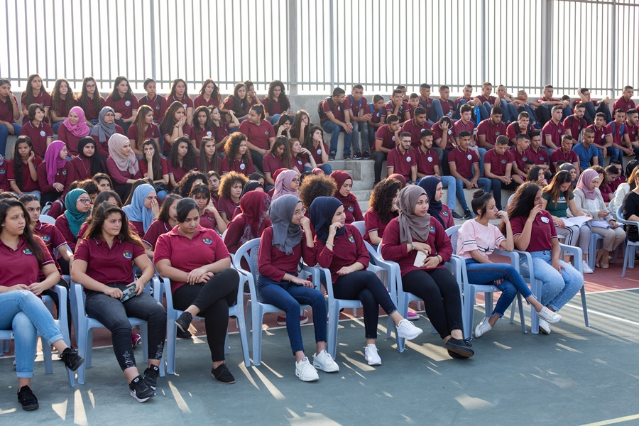مدرسة آفاق الثانوية كفرمندا تفتتح عامها الدراسيّ 2018/2019