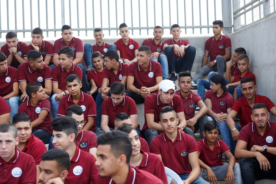 احتفال ذكرى الهجرة النبوية المباركة في باحة مدرسة آفاق الثّانويّة      طلع البدر علينا        السلام عليك يا رسول الله