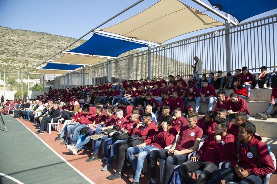 التسامح ونبذ العنف،احتفال ذكرى المولد النبوي الشريف في باحة مدرسة آفاق الثّانويّة فعاليات يوم الاثنين 2018-11-19