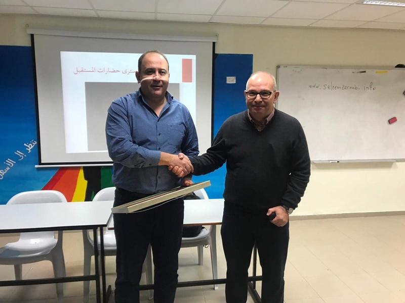 البروفسور سليم زاروبي في مدرستنا