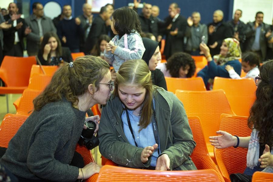 مدرسة آفاق الثانوية تتوج برنامج التبادل مع مدرسة المانية بأمسية تربوية وثقافية