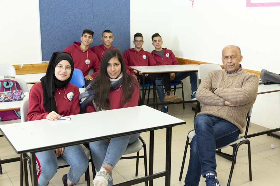 יום השפה העברית הראשון בבית ספר תיכון
