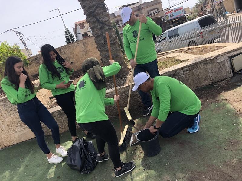يوم عمل تطوعي بلدي