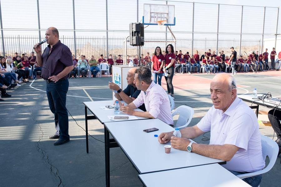 مدرسة آفاق الثانوية كفرمندا تفتتح عامها الدراسيّ 2019/2020