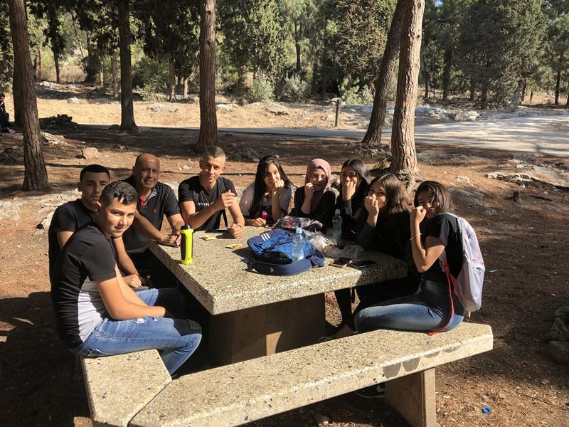 مدرسة آفاق  الثانوية كفرمندا تنظم يوما رياضيا لطلاب الصف الحادي عش