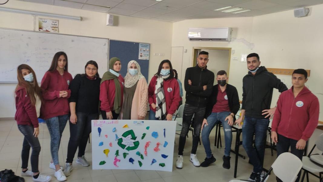 استقبال طلاب الحادي عشر