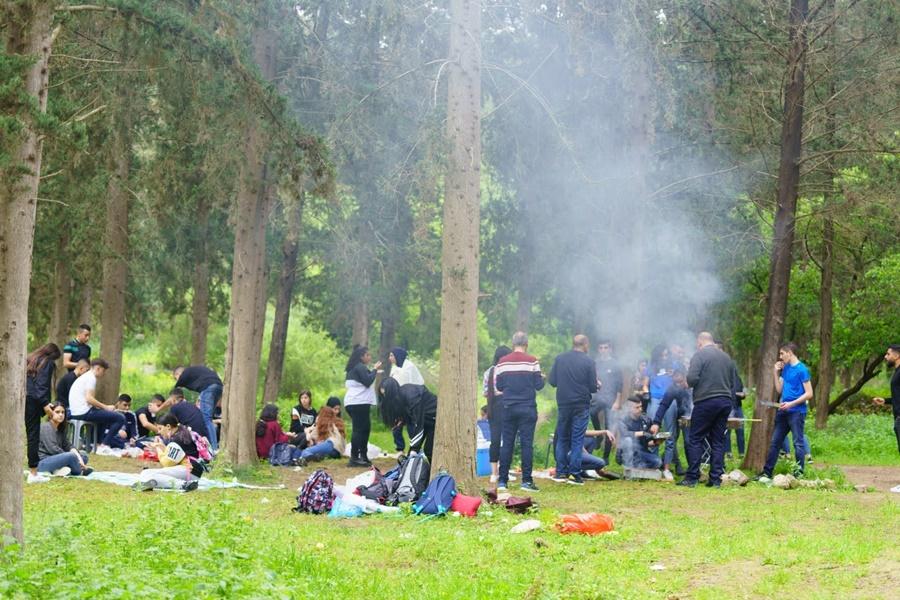 مدرسة آفاق الثانوية في لقاء مميّز  في أحضان الطبيعة لطلاب الصف العاشر