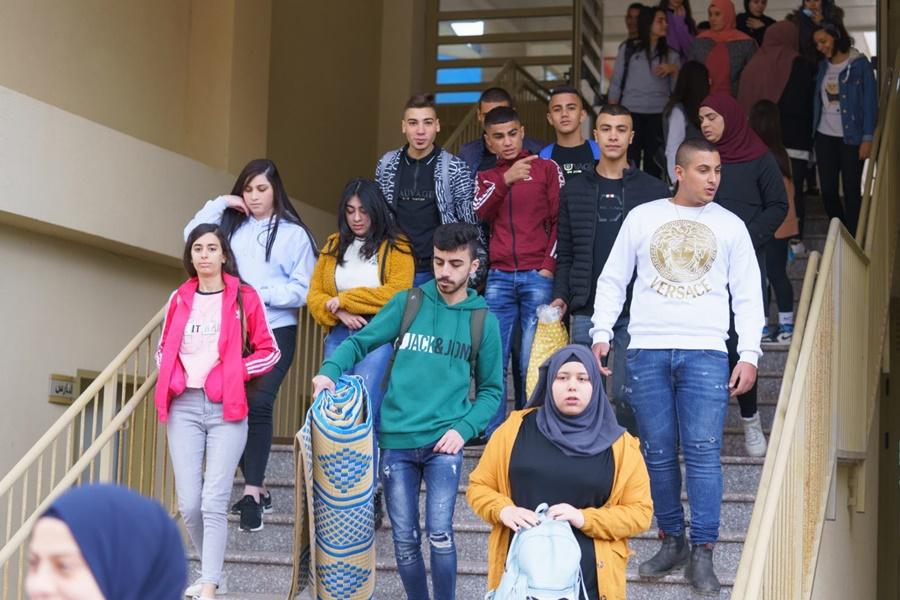 مدرسة آفاق الثانوية في لقاء مميّز  في أحضان الطبيعة لطلاب الصف الحادي عشر