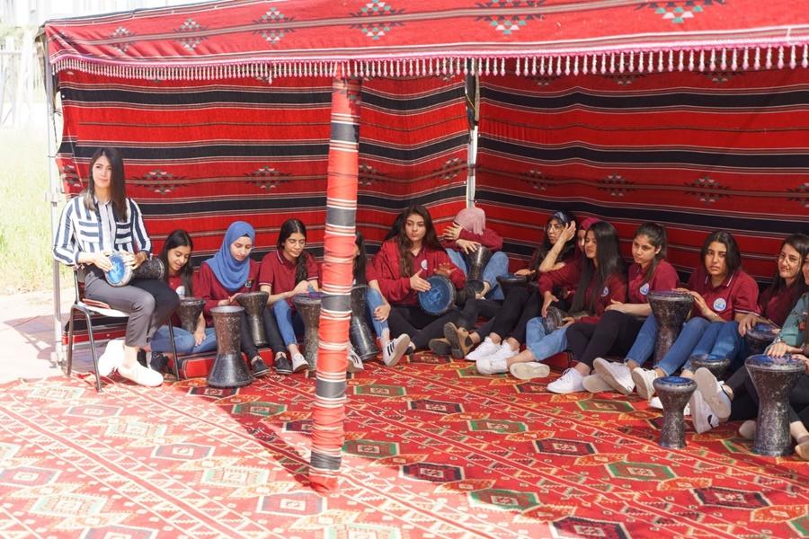 خيمة رمضانية