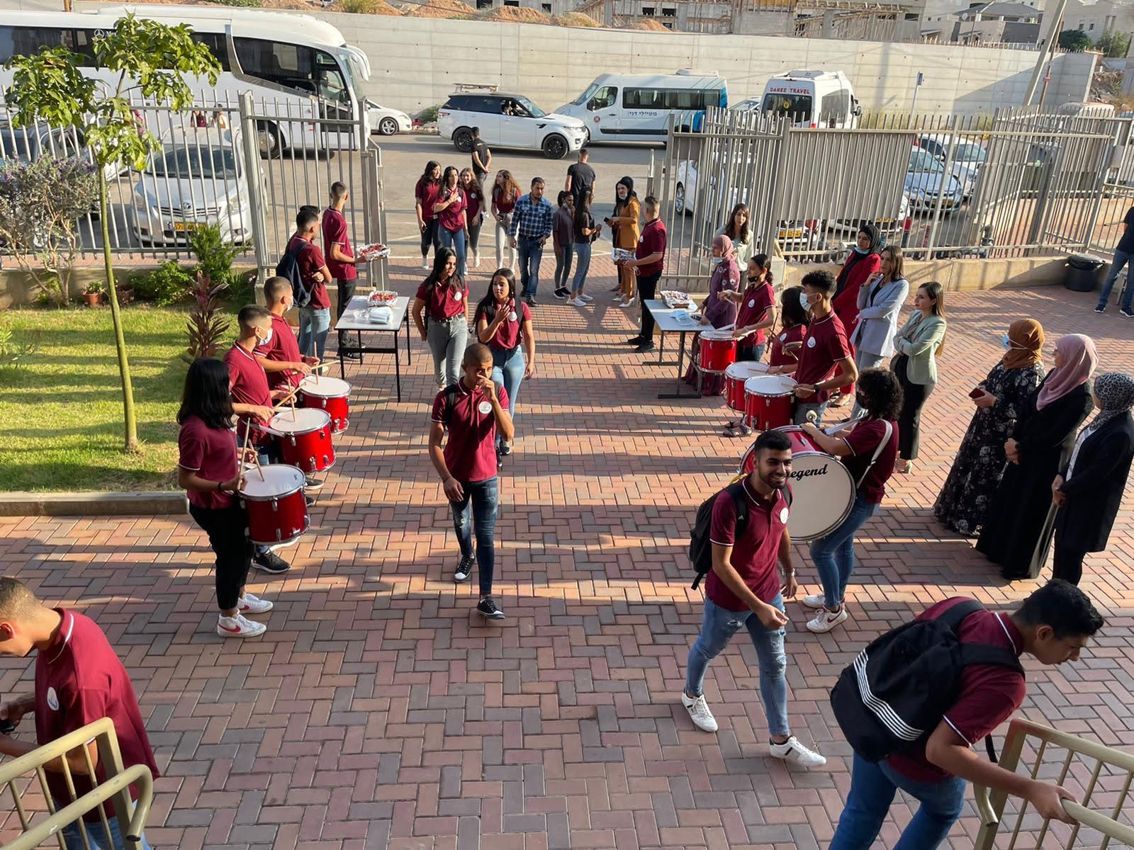 مدرسة آفاق الثانوية كفرمندا تفتتح عامها الدراسيّ 2021/2022